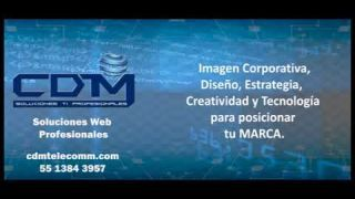 CDMtelecomm Soluciones Web Profesionales